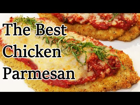 The Best Chicken Parmesan Recipe – Chef Jean-Pierre