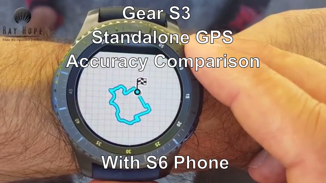 Samsung Gear S3 Standalone GPS Accuracy Comparison with S6 ...