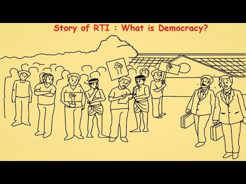 Story of RTI : What is Democracy?