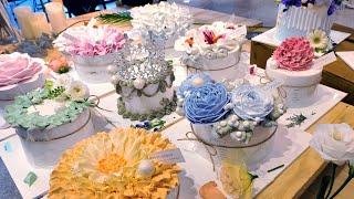 Делать так красивый торт и пирог | Корейский десерт