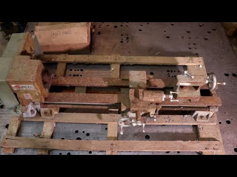 Tool Restoration -Heavily Rusted Lathe