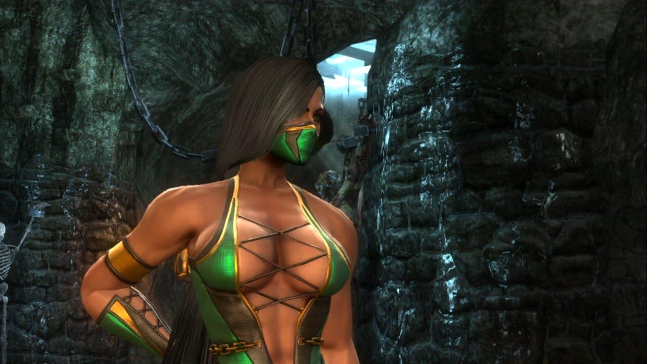 Mortal kombat jade follando