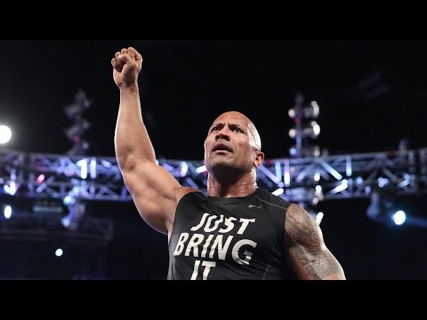 Rocks Shocking Return: Raw, Oct 6, 2014