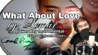 WHAT ABOUT LOVE by: LEMAR -Lower Key Instrumental