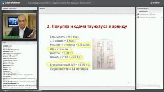 Арендный бизнес на базе таунхауса   Стратегия инвестирования в недвижимость №7 cutyoutube com(, 2015-07-26T13:17:34.000Z)