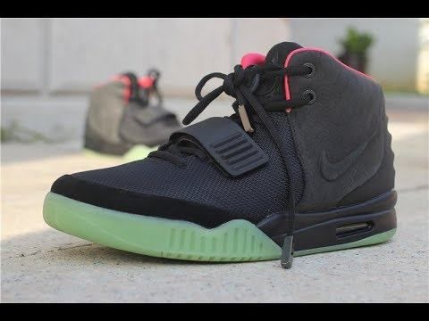 3c59030f6a13a Nike Air Yeezy 2 NRG Solar Red   Wolf Grey Pure Platinum Review ...