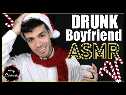 ASMR - Funny Drunk Boyfriend Role Play (Male Whisper for Relaxation & Sleep)