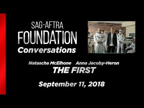 Conversations with Natascha McElhone and Anna JacobyHeron of THE FIRST