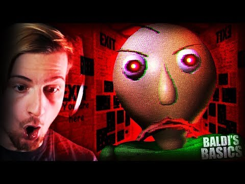 BALDI GOES TOO FAR IN THIS EPISODE. || Baldi's Basics (7/7 BOOKS)