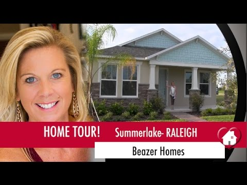 New Homes Winter Garden Florida Raleigh Model by Beazer in Summerlake
