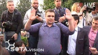 Консантин Янкаускас пришёл к окружной избирательной комиссии