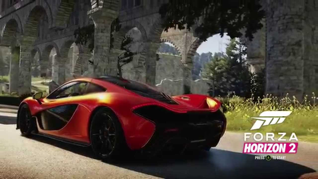 forza horizon 2 title screen xbox one youtube. Black Bedroom Furniture Sets. Home Design Ideas