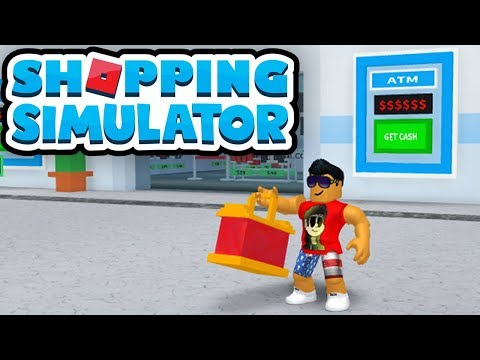 SHOPPING SIMULATOR in Roblox!