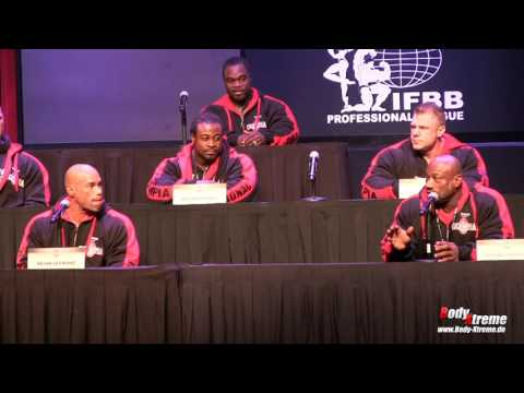 Mr. Olympia 2016 - complete press conference (2 cameras, HD)