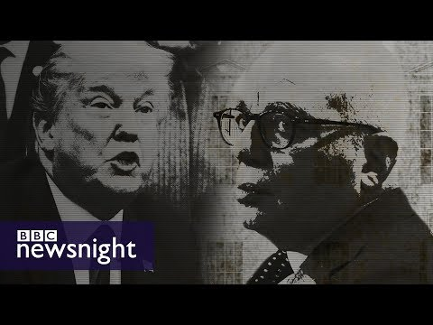 Michael Wolff on Fire and Fury - BBC Newsnight