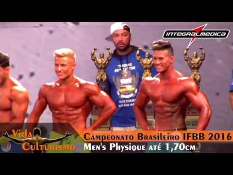 Campeonato Brasileiro IFBB 2016 - Categoria: Men's Physique até 1,70cm