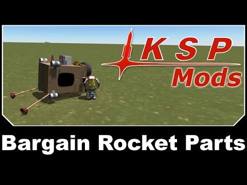KSP Mods - Bargain Rocket Parts