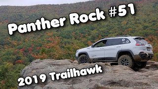 Panther Rock Trail #51, Windrock Park, October 2019, Badge of Honor, Jeep Cherokee Trailhawk 4x4