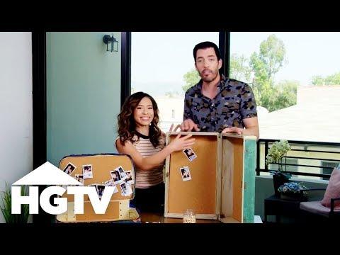 Candid Wedding Snaps Display - HGTV