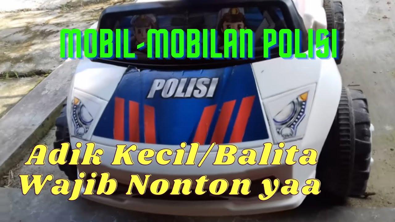 Mobil Mobilan Polisi Yang Bisa Dinaiki Anak Keren Dan Murah YouTube