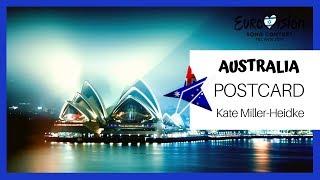 Eurovision 2019 – Kate Miller-Heidke – Zero Gravity – Australia ???????? [POSTCARD]