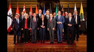 Am 1. oktober 2018 hat hamburg für ein jahr den vorsitz der ministerpräsidentenkonferenz (mpk) übernommen. vom 24. bis 26. empfing hamburgs erster bü...