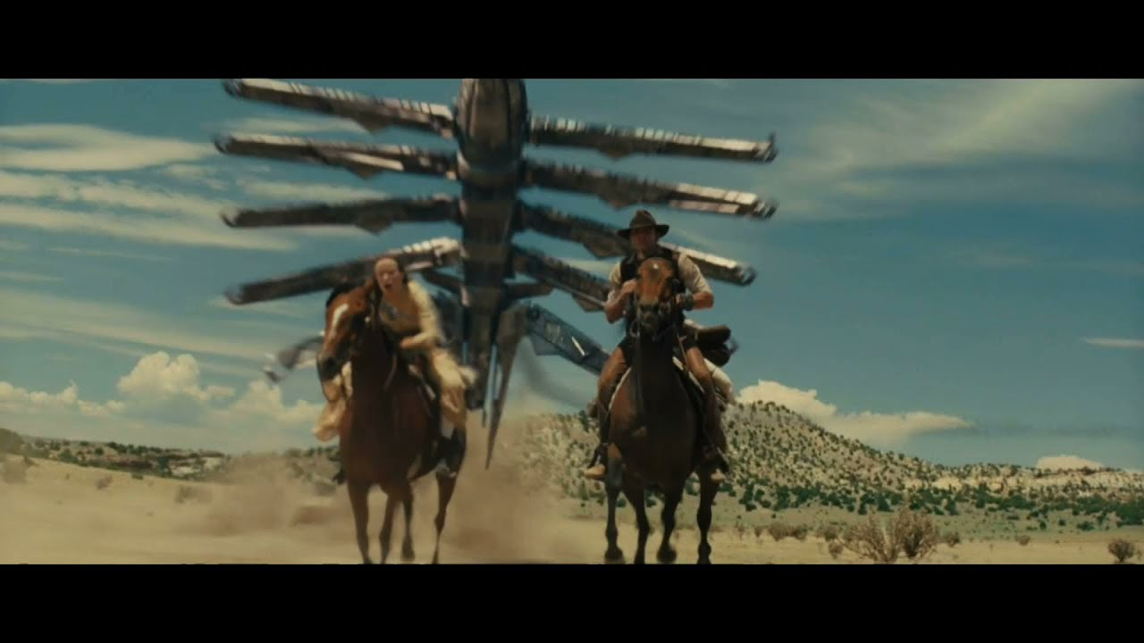 Ep #56: Cowboys and Aliens, Captain America, Attack the ...  Cowboys And Aliens Alien Ship