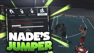SHOOTING WITH NADEXE'S REAL LIFE JUMPER IN NBA 2K17!!! UGLIEST JUMP SHOT IN THE GAME!!!