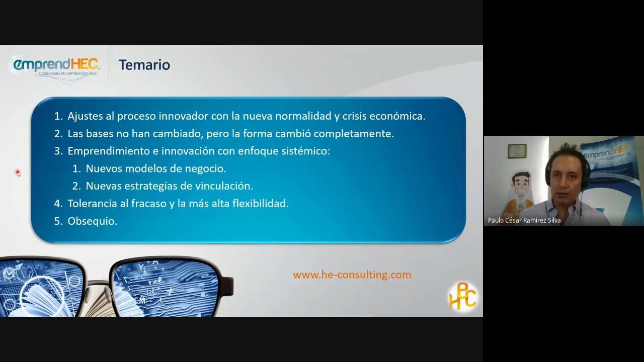 Charla-Taller para TecNM: Experimentación, tolerancia al fracaso y flexibilidad en proceso innovador