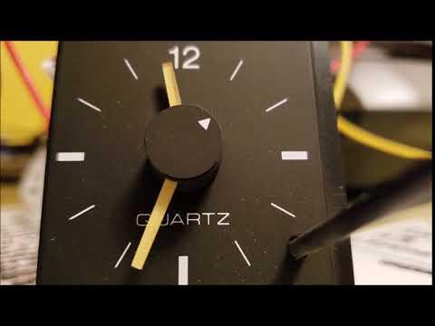 1986 Toyota Camry Jeco Analog Dash Clock