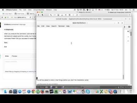 Debian terminal error