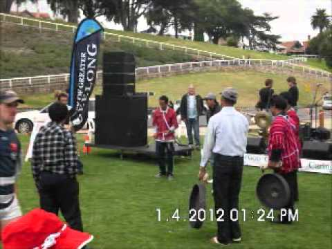 Karenni traditional instruments making show in Geelong Australia 2012.wmv