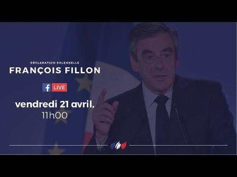 Déclaration solennelle de François Fillon