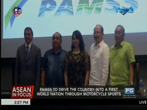 PAMSS to drive the country into a first world nation through motorcycle sports
