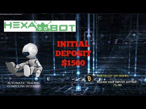 Hexabot my Journey - Initial Deposit $1500 Swing Trading