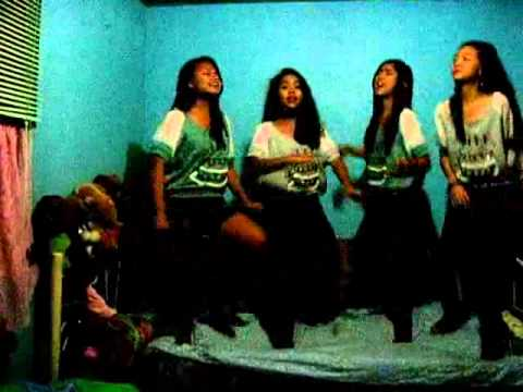 Girl on Fire cover by Thea, Queen, Rhena & Cess