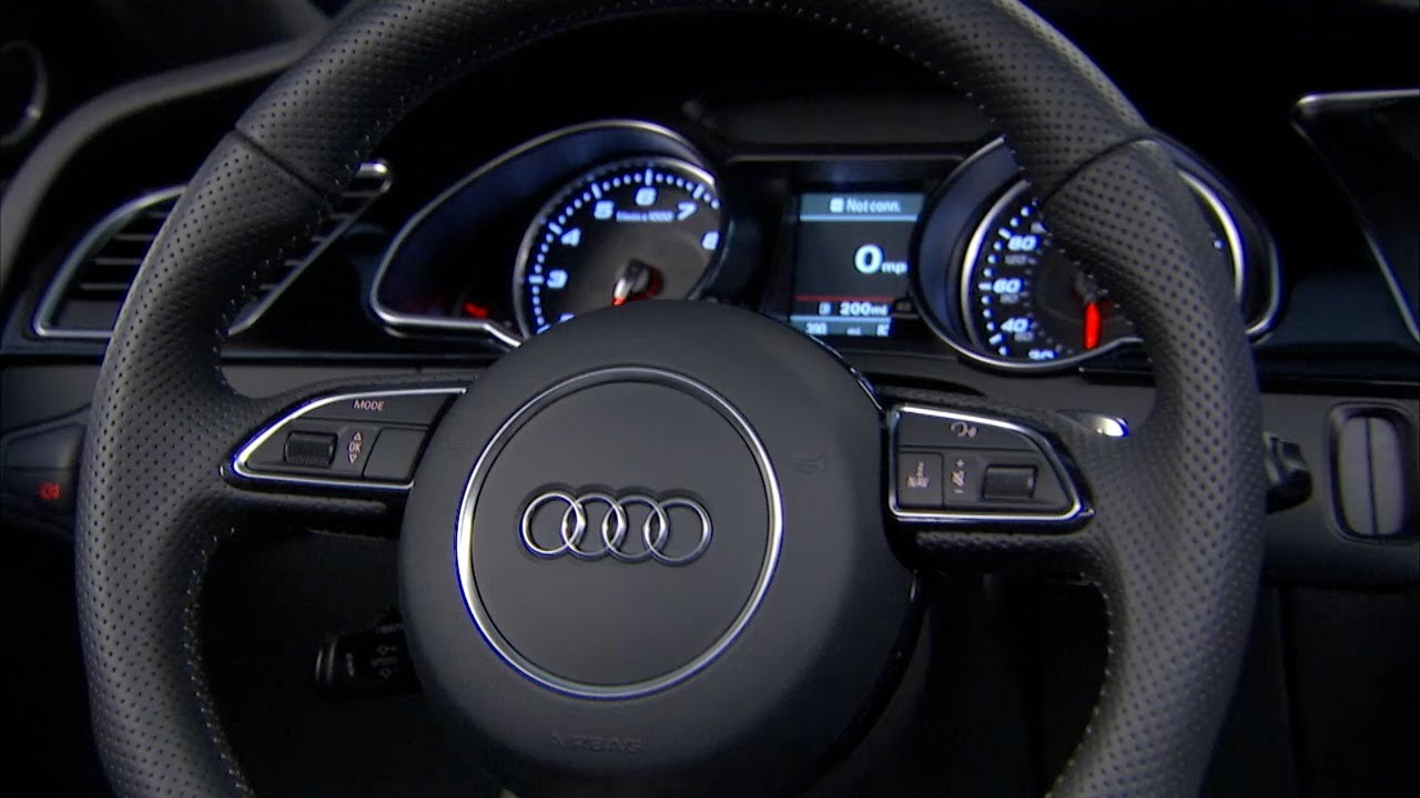 2013 Audi RS5 Interior [US version] - YouTube