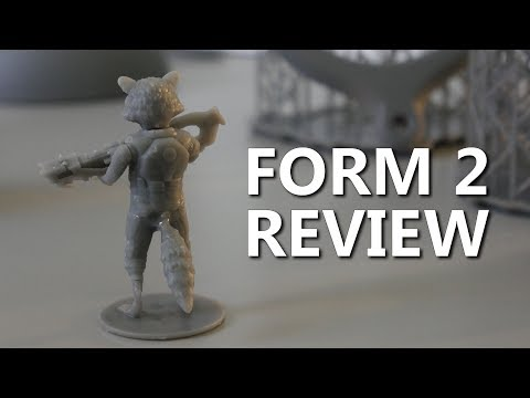 Why the Form 2 is worth $3499 - SLA 3D Printer Review