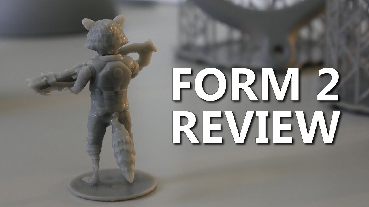 Why the Form 2 is worth $3499 - SLA 3D Printer Review - YouTube