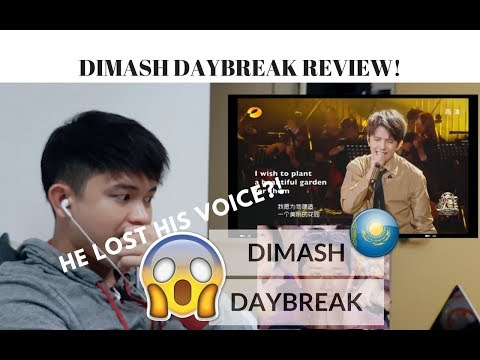 [REACTION] DIMASH LOST his VOICE! but can STILL SING HAN HONG'S