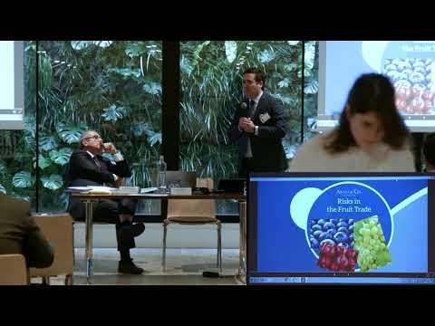 Legal framework in the International Fruit Trade; Matias Araya, Partner of Araya&CIA Lawyers (Chile)