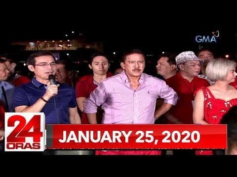 24 Oras Weekend Express: January 25, 2020 [HD]