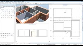 Видео урок по программе Allplan 2015 (2 окна и двери)