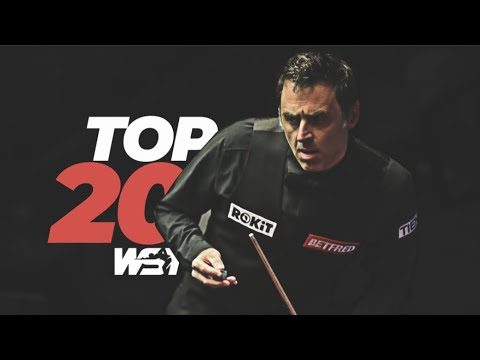 Top 20 Crucible Shots of 2021 | Betfred World Championship