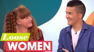Video Jahmene Douglas And His Incredible Mum Open Up About Domestic Abuse | Loose Women download MP3, 3GP, MP4, WEBM, AVI, FLV November 2017