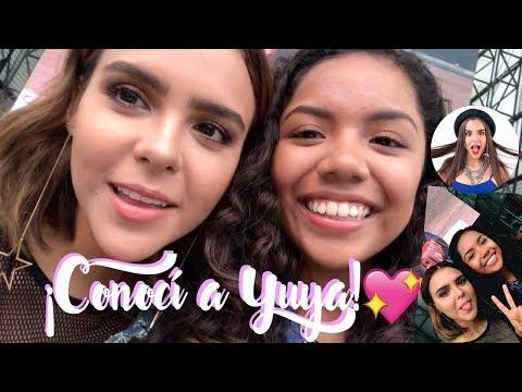 YUYA FAN MEETING PERU, NOS MANDA SALUDOS AL CANAL | Johanna De La Cruz