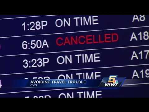 250,000 travelers expected at Cincinnati/Northern Kentucky Airport during holidays