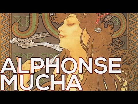 Alphonse Mucha: A collection of 41 posters (HD)