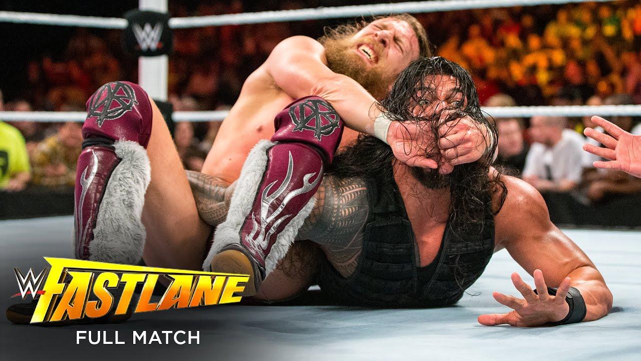 Download FULL MATCH - Roman Reigns vs. Daniel Bryan: WWE Fastlane 2015