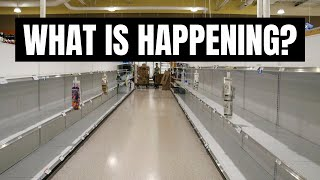 IS THERE A FOOD SHORTAGE? WALMART EMPTY SHELVES  SUPPLY CHAIN &amp PREPPING 2021  FRUGAL FIT MOM